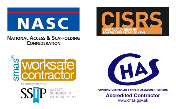 Champion Scaffolding Accreditations